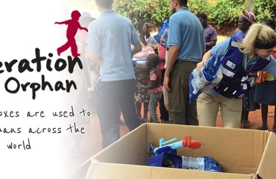 How our boxes are used to help orphans across the world